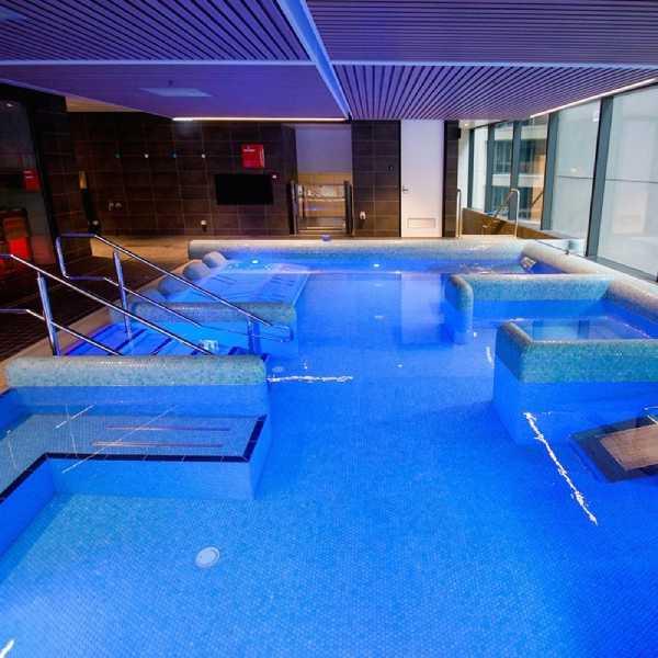 Anti Slip Tiles Fancy Pool