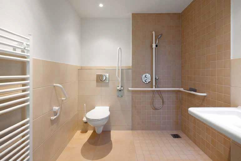 Antibacterial Tiles Bathroom