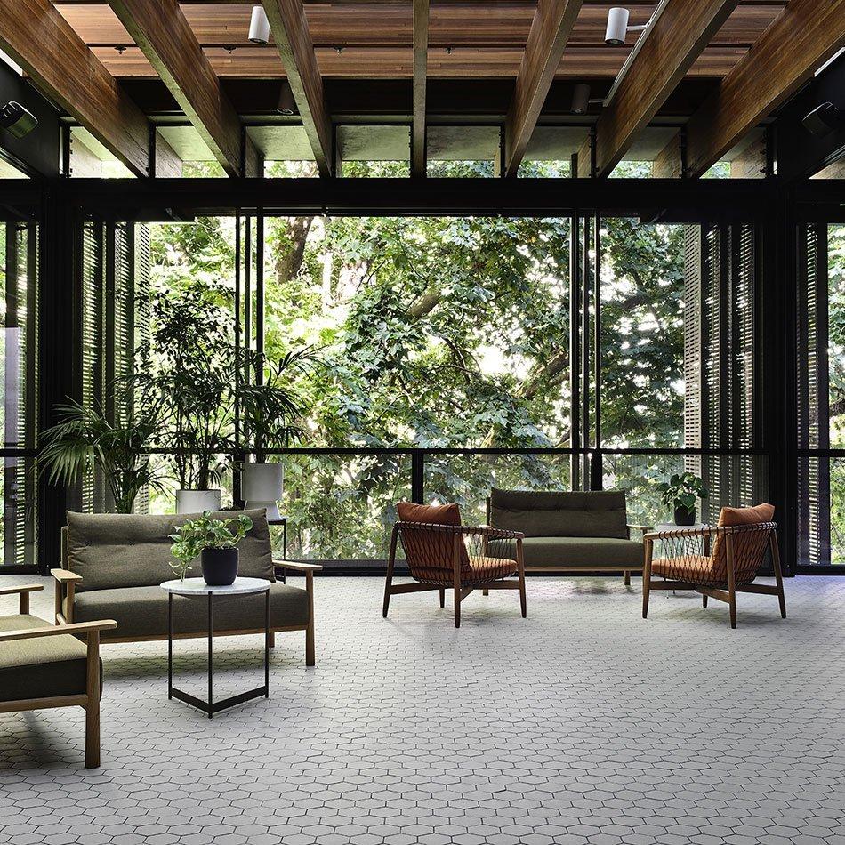 Ceramic Tiles On Lyceum Club Melbourne